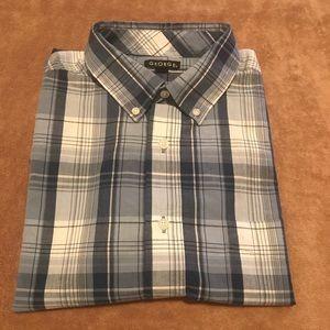 Men's short sleeve Plaited shirt